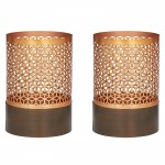 Amalfi Koh Hurricane Candle Holder (Set of 2)